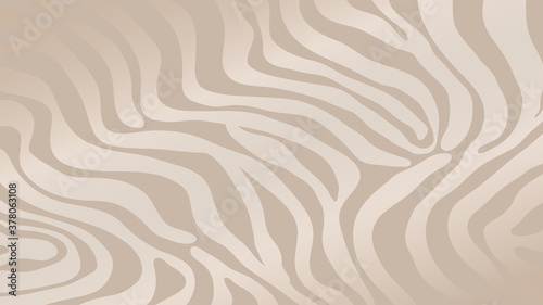 Fotografiet Rose Gold zebra skin background vector