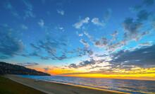 Dramatic Southern California Sunset