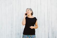 Senior Woman Talking On A Phon...