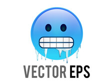 Vector Gradient Blue Cold, Fre...