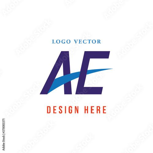 Slika na platnu farmasi logo huruf AE/EA sederhana, mudah dipaham dan berwibawa