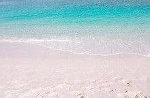 Pink Sandy Beach And Washing B...