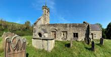 Medieval Church - Wharram Percy - England