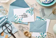 Preparing Wedding Invitations