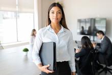 Beautiful Hispanic Businesswom...