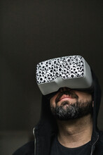 Man In A VR Headset