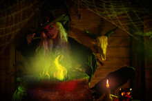 Fire Spell And Potion