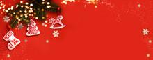 Christmas Banner -xmas Tree Br...