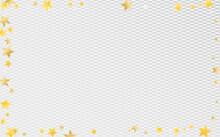 Golden Graphic Stars Vector Transparent