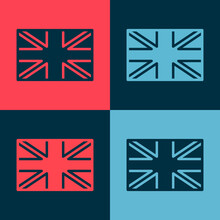 Pop Art Flag Of Great Britain ...