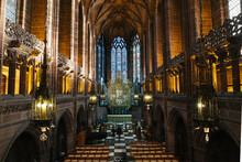 Inside Of Liverpool Cathedral ...