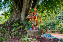 A Spirit House On Earth Mound ...