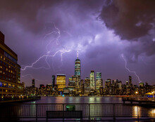 STORMY NEW YORK CITY