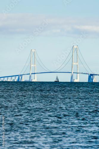 Fototapeta bridge in san francisco, in Sweden Scandinavia North Europe obraz
