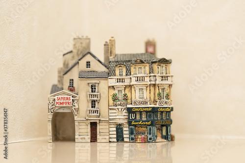 Obraz フランスのお店レプリカ - fototapety do salonu
