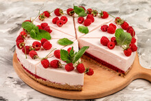 Delicious Cheesecake With Berr...