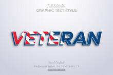 Veteran Editable Custom Text S...