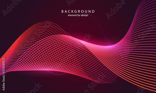 Fotografie, Obraz Abstract wave background