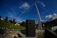 Ecran Pour Projection Cinématographique En Plein Air à Villard De Lans