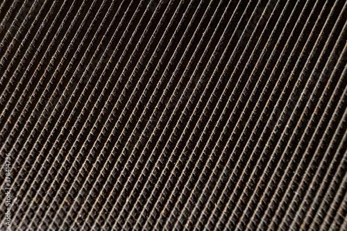 Rasp diagonal texture. Selective soft focus. Bokeh. Wallpaper Mural