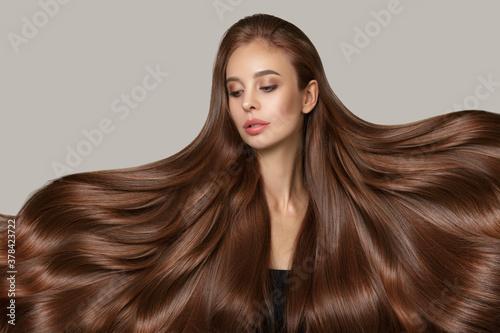Beautiful hair Fototapeta