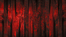 Woody Background Of Red Shades