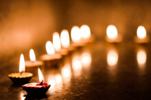 Candles Lit On The Occasion Of...