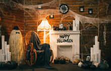 Photo Of A Halloween Decor Wit...
