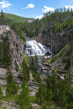 Gibbon Falls, Yellowstone Nati...