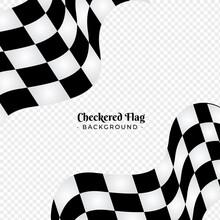Checkered Flag Background. Rac...