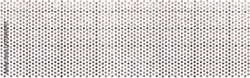 Fotografia Panorama of White steel mesh screen pattern and seamless background