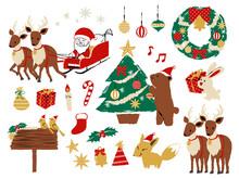 Illustration Set Of Christmas ...