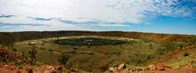 Panorama Of Wolf Creek Meteore...