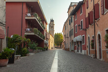 Alley Of Bardolino In Italy 2