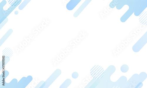 Tela 青色・幾何学模様の背景パターン素材