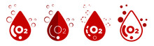 Blood Oxygen Saturation Icons ...