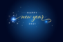 Greeting Card For New Year 2021