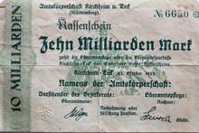 Deutsches Inflationsgeld Von 1...