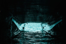 Underside Of A Double Hull Pas...
