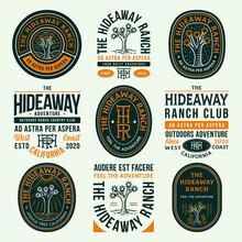 Colored Hideaway Ranch Adventu...
