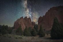 Stars Over Rocks