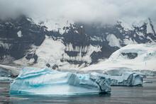 Icebergs Along The Gerlache St...