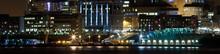 Liverpool Night Skyline Refections