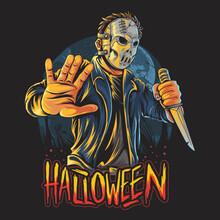 Masked Man Halloween Costume P...