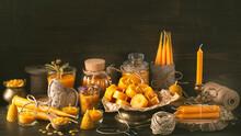 Handmade Natural Beeswax Candles