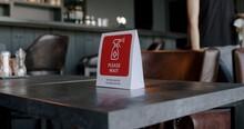 Warning Sanitizing Sign Standi...
