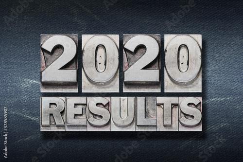 Fototapeta results 2020 phrase den obraz