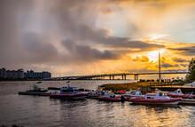 Pre-storm Sunset On The Neva R...