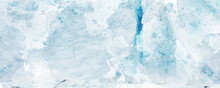 Abstract Blue Watercolor Background. For Banner, Postcard, Poster Background. Texture For Design. Snow And Ice Concept