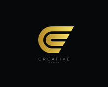 Professional And Minimalist Letter C CC Logo Design, Editable In Vector Format